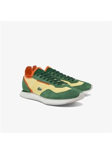 Lacoste Lacoste Match Break 01213 Qsp Sma Erkek Sarı - Yeşil Sneaker Sarı